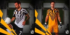 2020-21 home and goalkeeping shirts