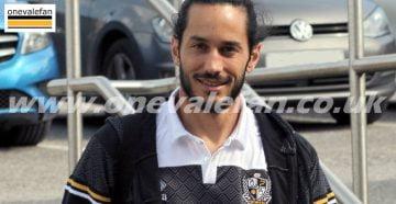 Port Vale goalkeeper Dino Visser