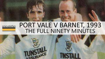 Port Vale v Barnet 1993