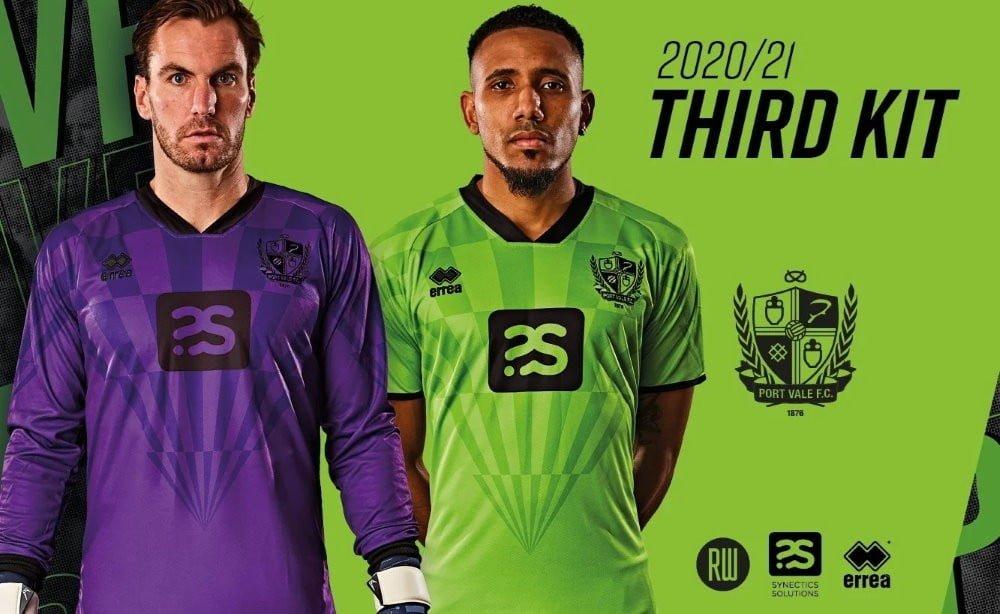Port Vale third kit 2020-21