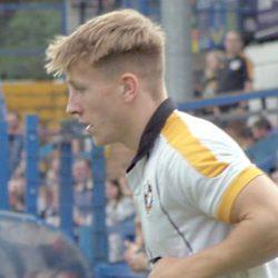 Port Vale player Alex Hurst