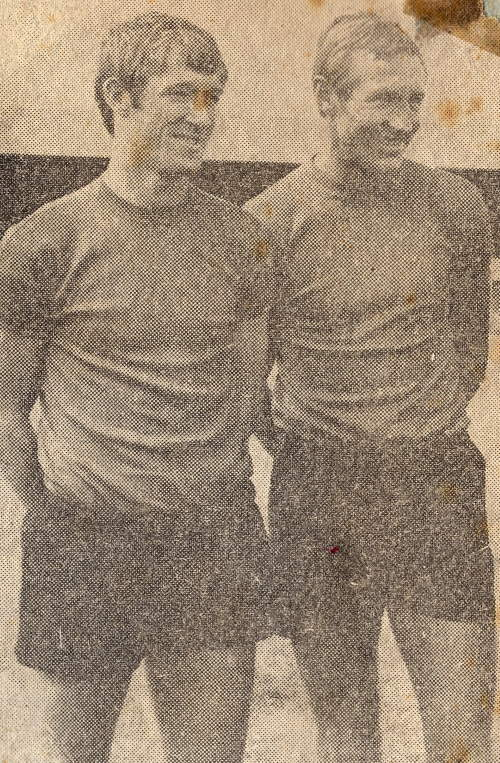 Mick Morris and Roy Chapman