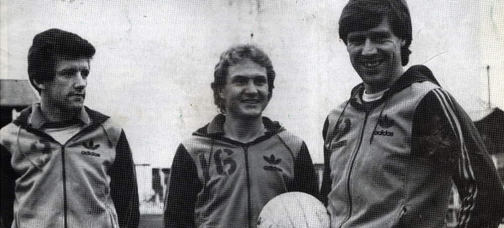 Gary Pollard, Terry Armstrong and Martin Henderson