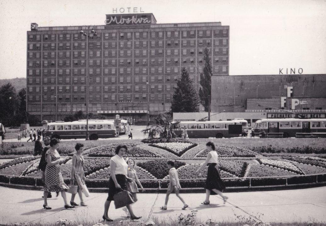 The Port Vale team hotel in Gottvaldov