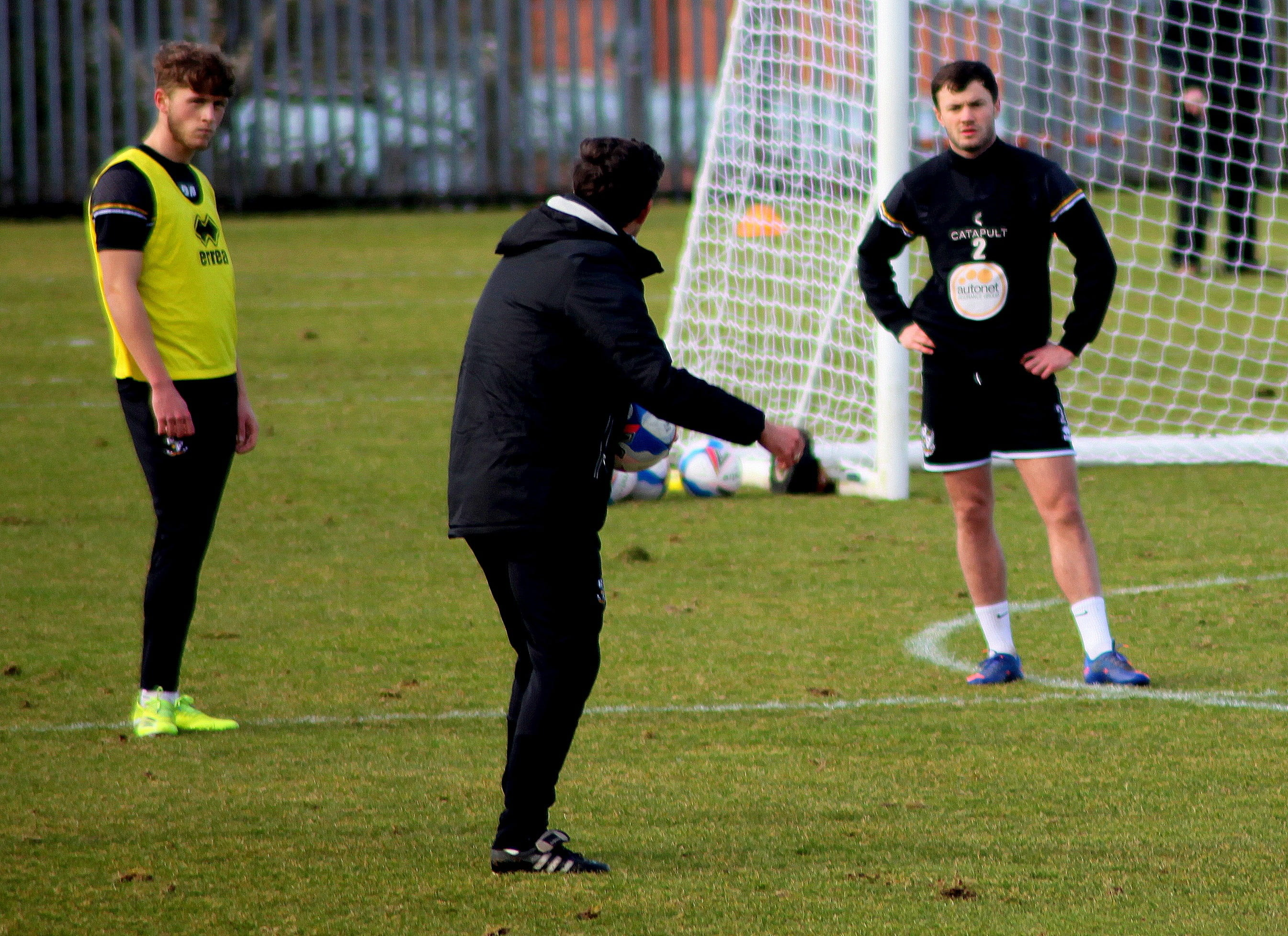 Port Vale training session 2021