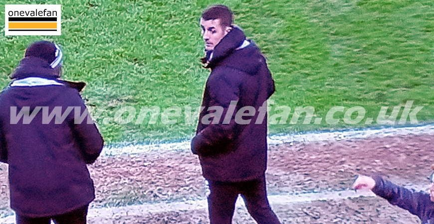 Port Vale caretaker manager Danny Pugh
