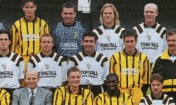 John Jeffers in the Port Vale squad photo