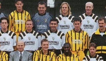 John Jeffers in the Port Vale squad photo