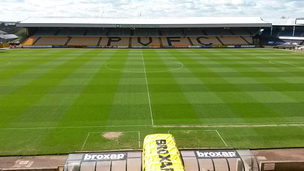 The Vale Park stadium