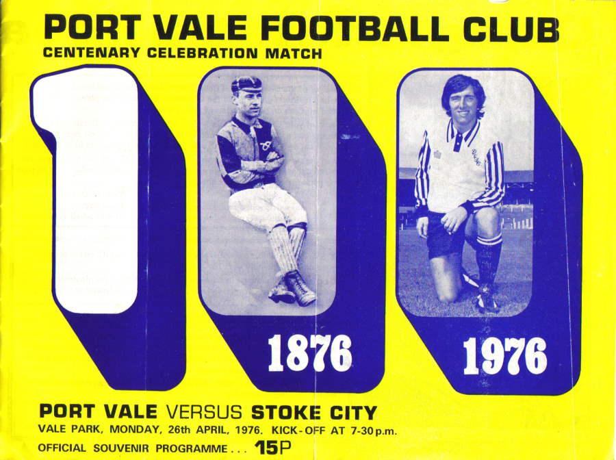 Port Vale Centenary programme