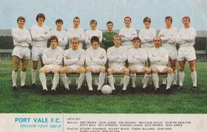 1969-70 Port Vale team