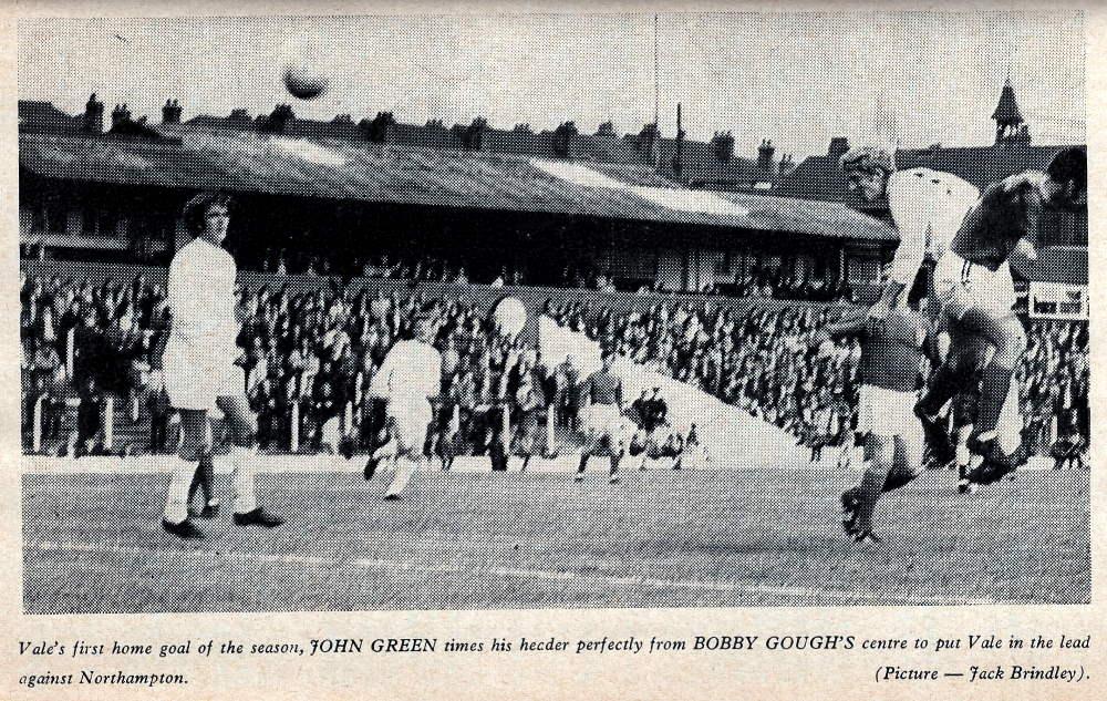 John Green scores against Northampton