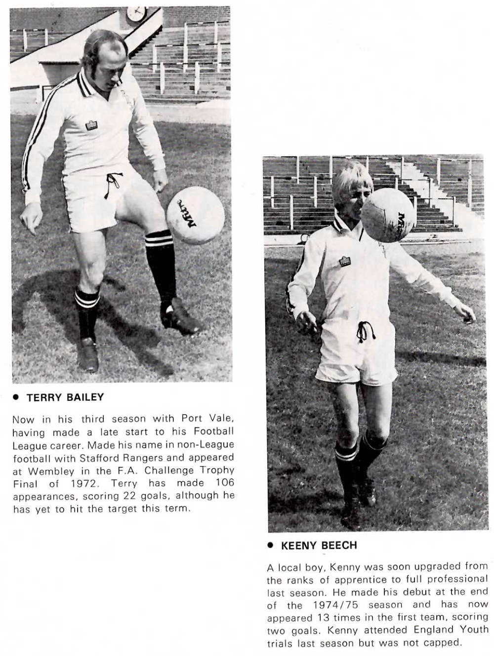 Terry Bailey and Kenny Beech