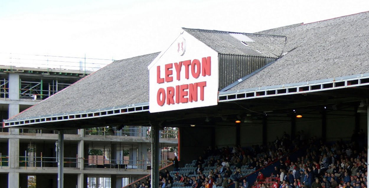 """East Stand at Leyton Orient"" by currybet is licensed under CC BY-SA 2.0"