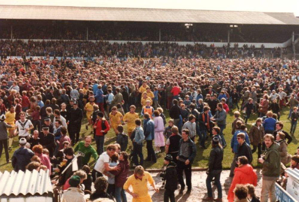 Port Vale v Northampton Town 1983