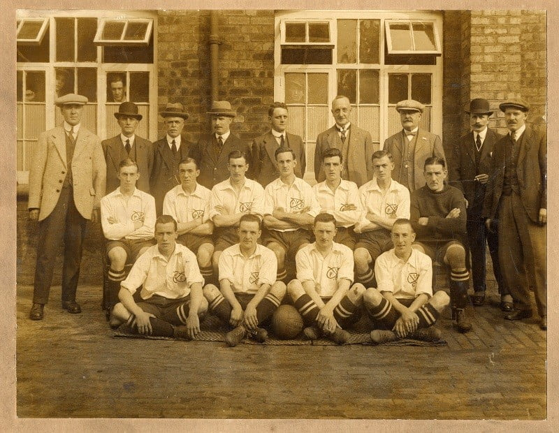 Port Vale team photo 1920's