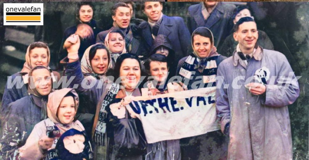 See vintage B&W Port Vale photos in colour