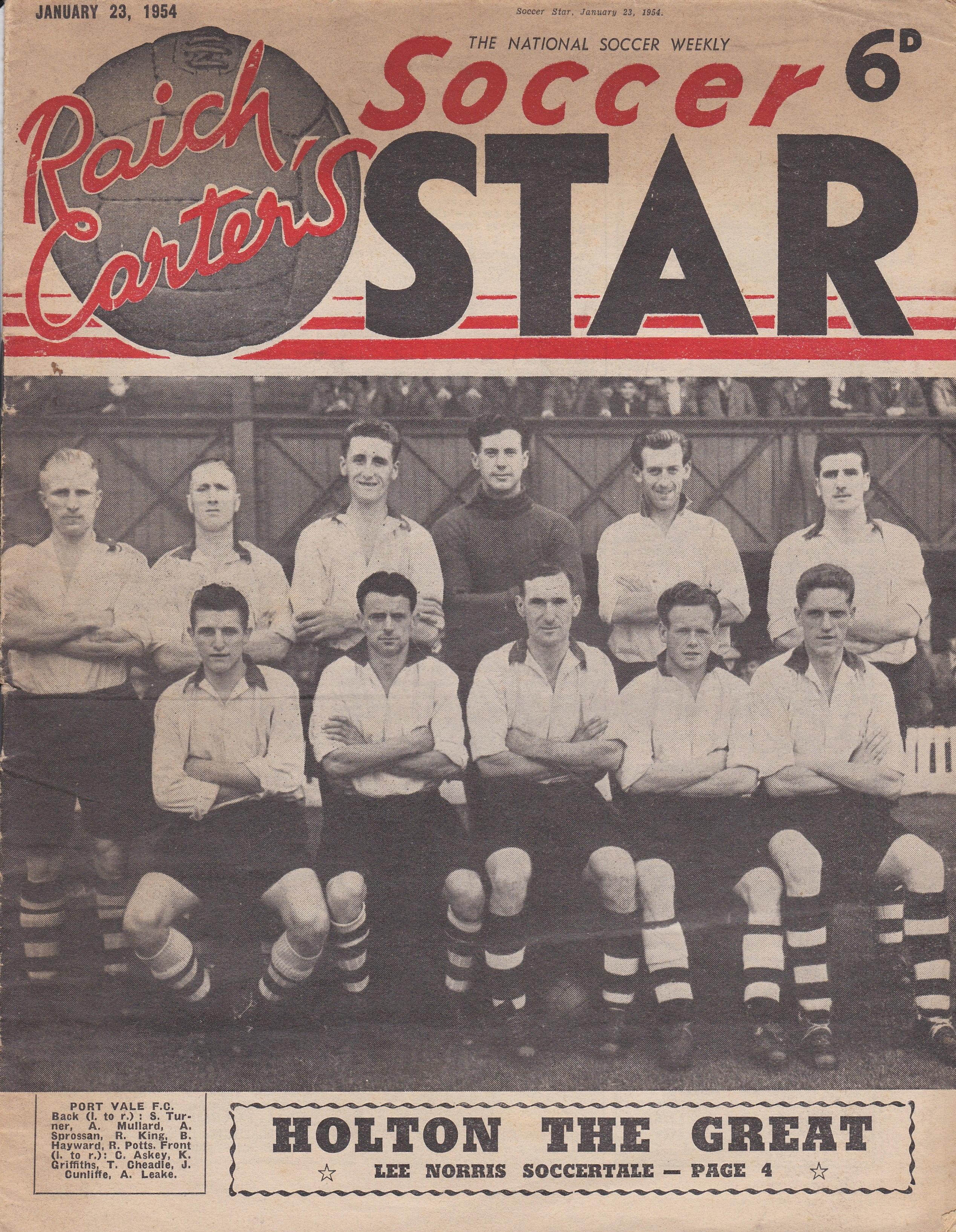 Port Vale 1954 team
