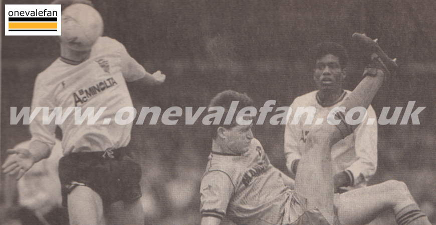 National press cuttings from Port Vale's 1989 promotion season
