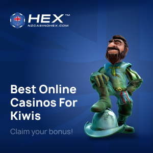 Play in New Zealand's best-rated online casinos approved by Casino Hex