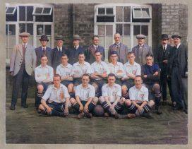 Colourised version of Port Vale 1929 team line-up