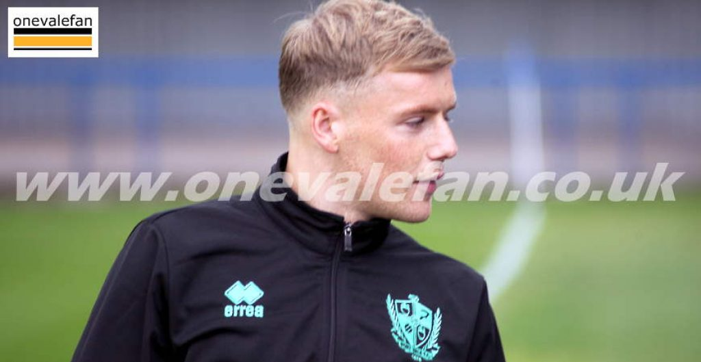 Port Vale midfielder Tom Conlon