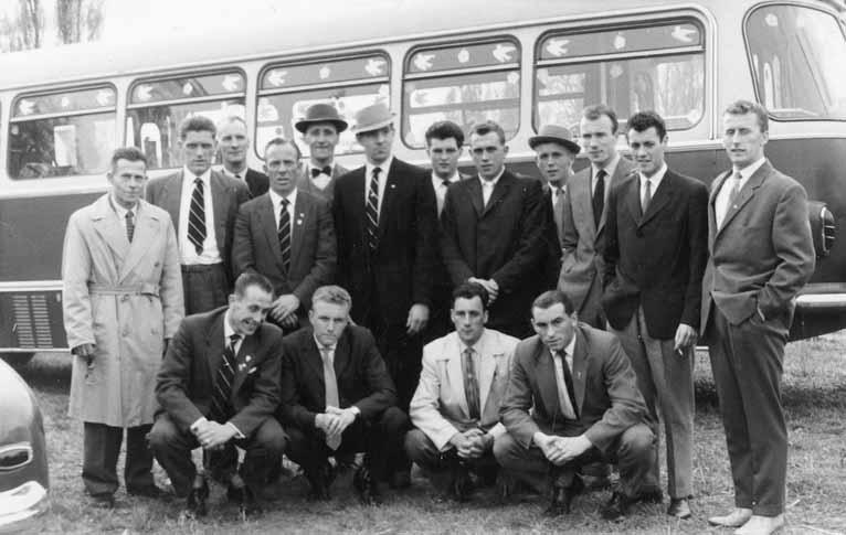 Port Vale tour of Czechoslovakia in 1961