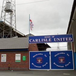 """""""Welcome to Brunton Park"""" by Rose and Trev Clough is licensed under CC BY-SA 2.0"""