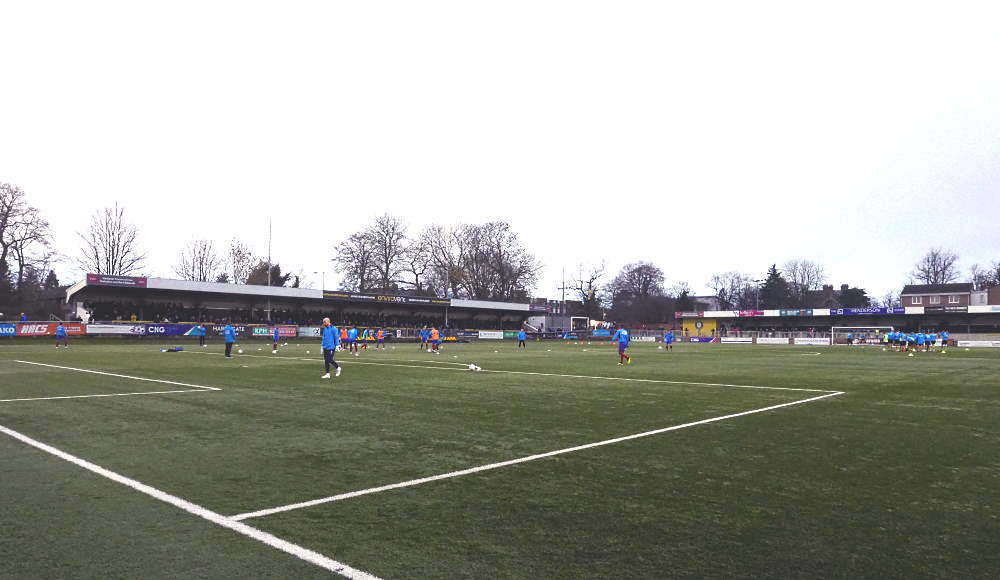 """""""Harrogate Town v Aldershot"""" by yellow book is licensed under CC BY 2.0"""