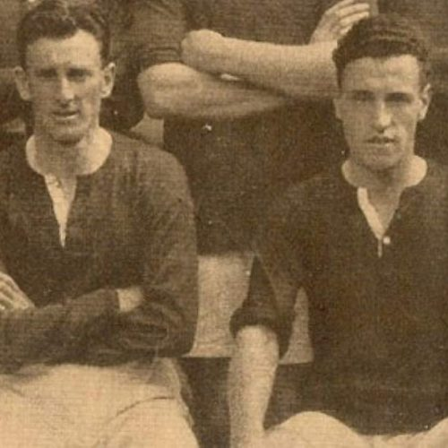 Tom Page and Wilf Kirkham