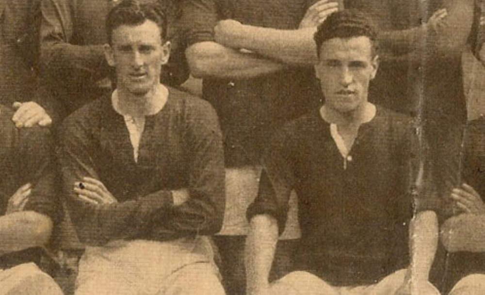 Tom Page and Wilf Kirkham