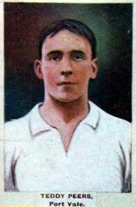 Port Vale history: Teddy Peers