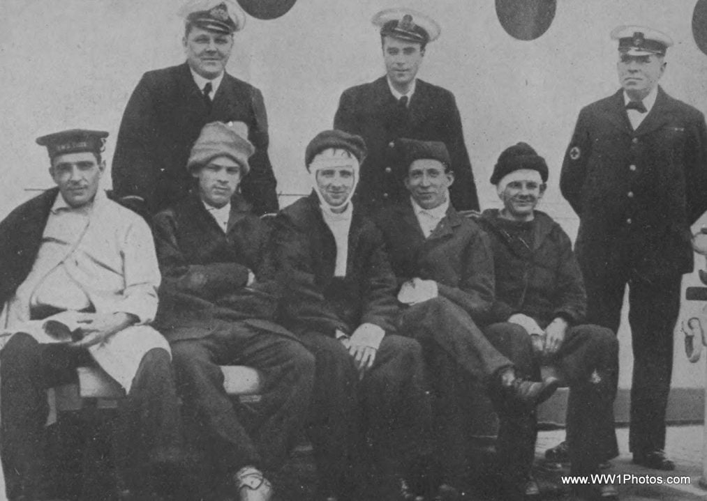 """""""Wounded From The Battle Of Jutland Aboard A Hospital Ship"""" by www.WW1photos.com is licensed under CC BY 2.0"""