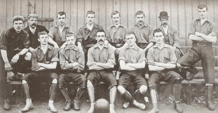 The 1894 Port Vale side - image Wikipedia
