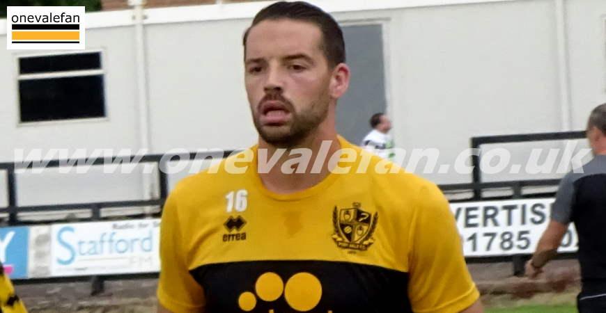 Port Vale defender Aaron Martin