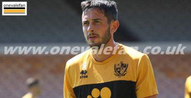 Port Vale midfielder Ben Garrity