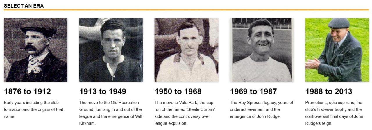 Screengrab - Club History page 1