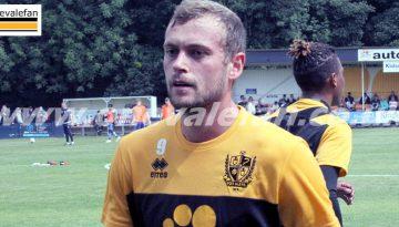 Port Vale striker James Wilson