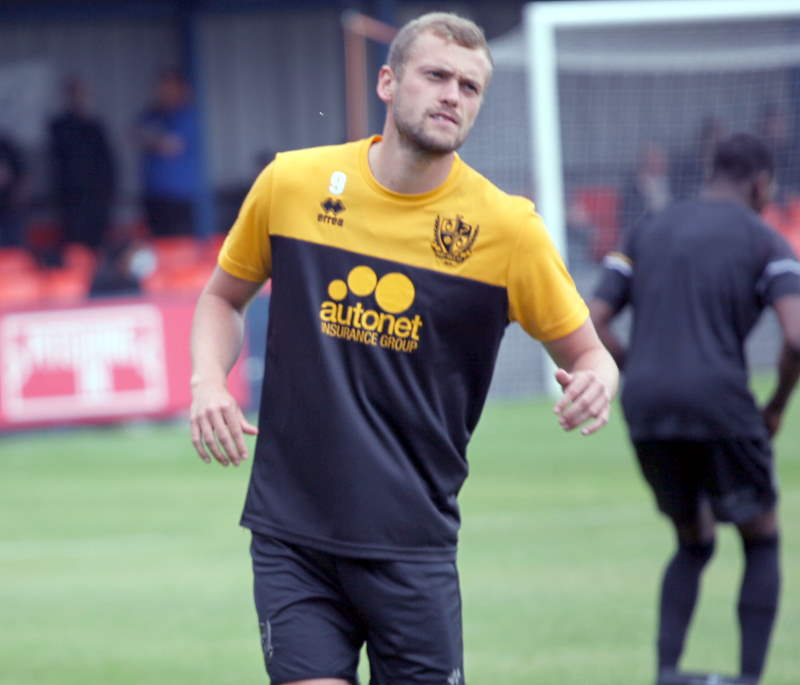James Wilson - Kidsgrove Athletic 0-2 Port Vale