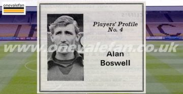 Player Profiles - Alan Boswell