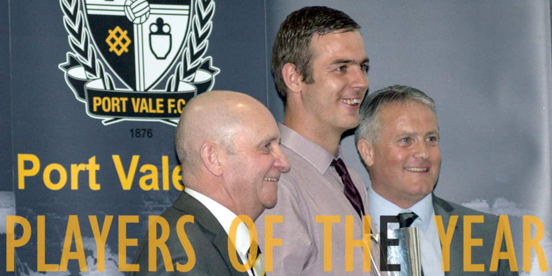 Port Vale players of the year - Tom Pope receives one of his three awards