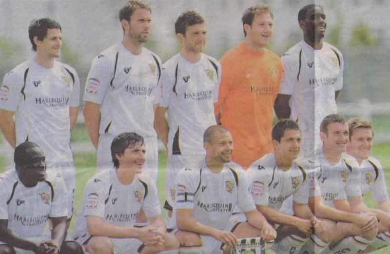 Port Vale FC team 2010-2011