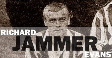 "Port Vale player Richard ""Jammer"" Evans"