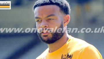 Port Vale defender Ryan Johnson