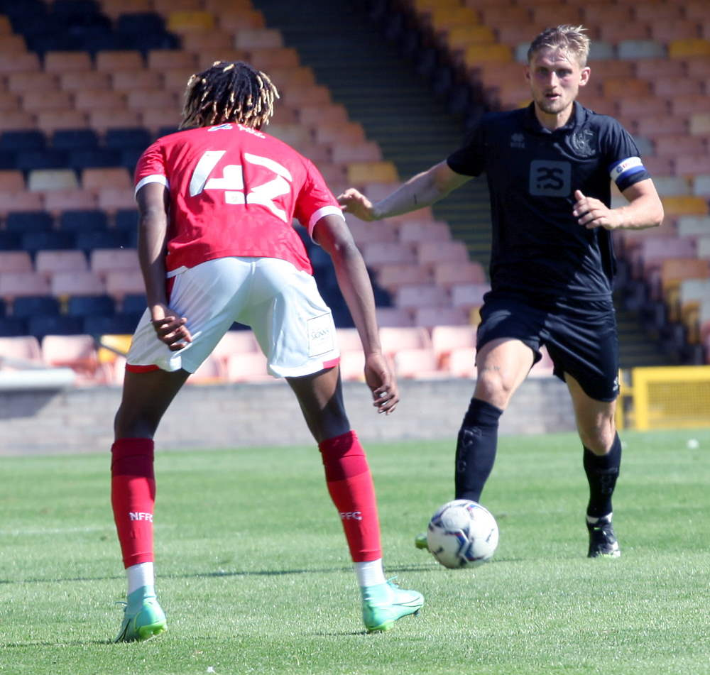 Nathan Smith - Port Vale 0-2 Nottm Forest, friendly 2021