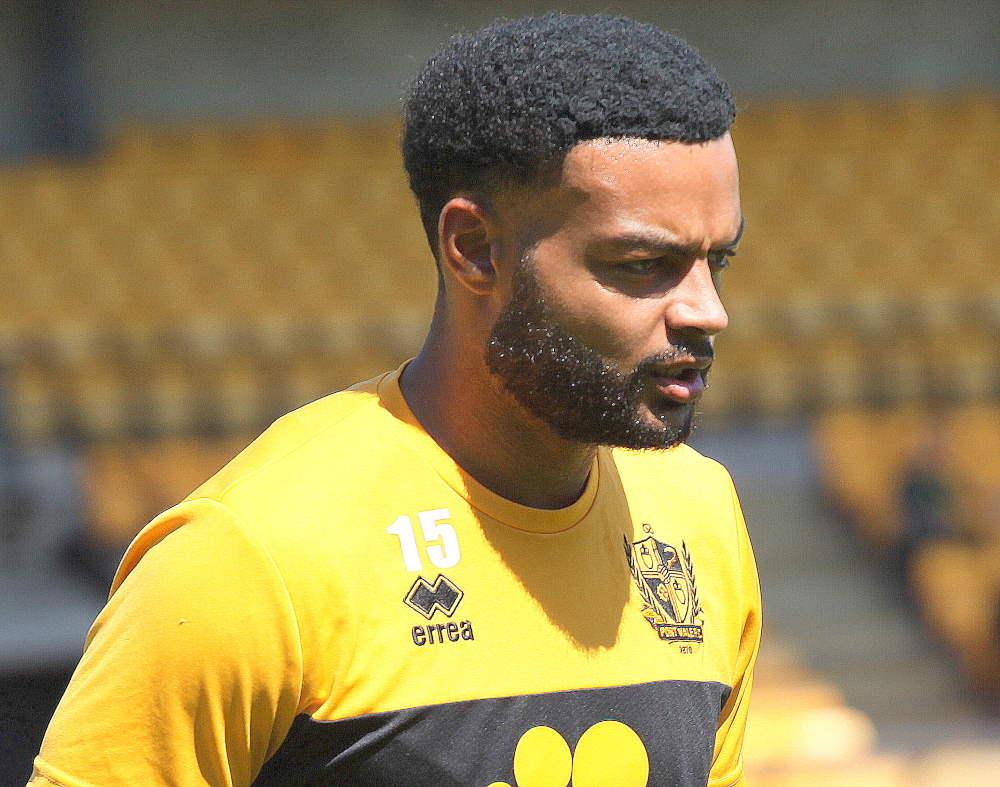 Ryan Johnson - Port Vale 0-2 Nottm Forest, friendly 2021