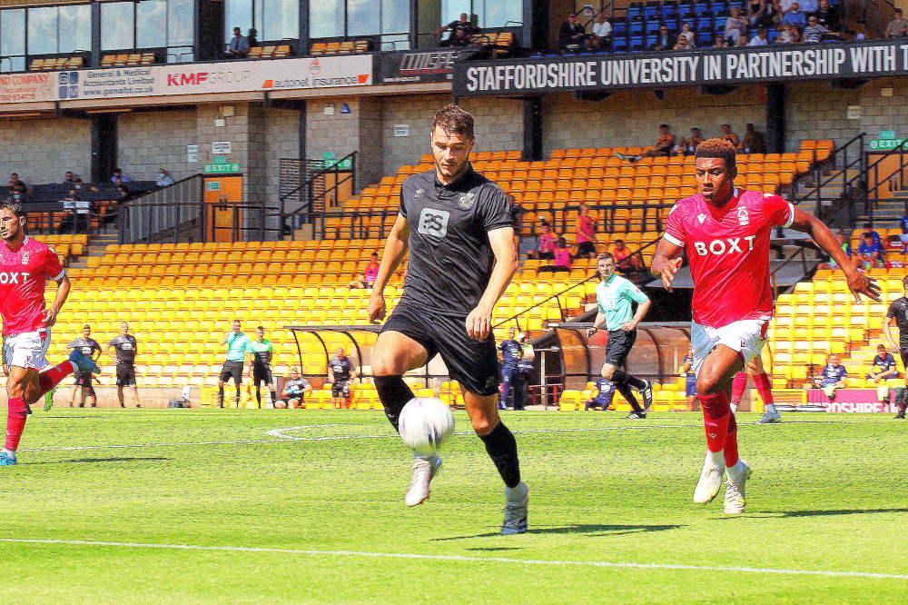 Brad Walker - Port Vale 0-2 Nottm Forest, friendly 2021