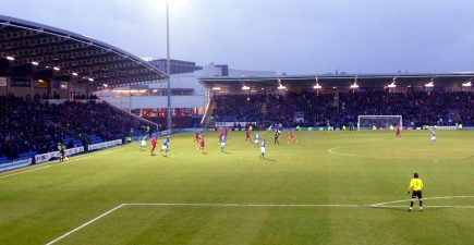"""""""Chesterfield v Aldershot"""" by yellow book is licensed under CC BY 2.0"""