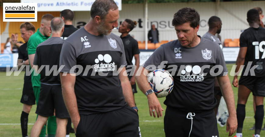 Andy Crosby and Darrell Clarke