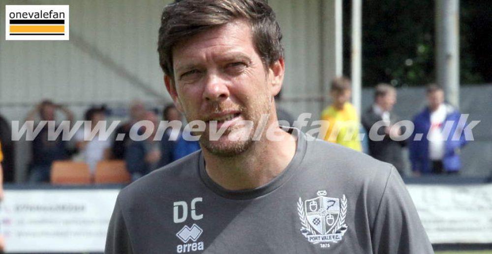 Port Vale manager Darrel Clarke